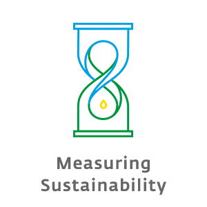 What is your sustainability status? fjol-icon-measuring-sustainability